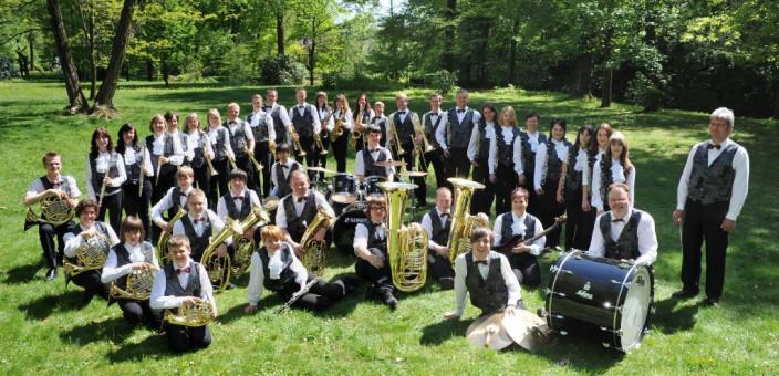 Musikverein Lichtenstein Applaus für 45 Jahre Blasmusik