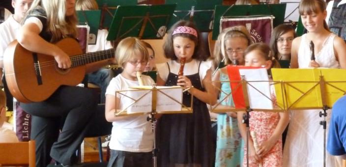 Ausbildung im Musikverein