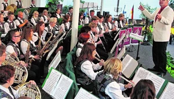 Wertungsspiel des Landesmusikfestes in Markneukirchen