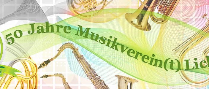Aufruf zum 50jährigen Jubiläum des Musikvereins