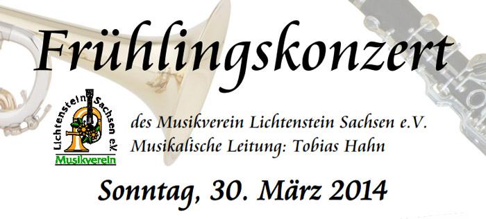 Frühlingskonzert 30. März 2014