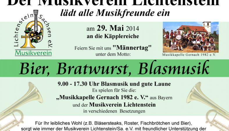 BBB am 29. Mai 2014 Käpplereiche in Lichtenstein