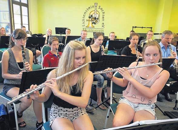 Musikverein Lichtenstein geht auf Belgien-Tournee