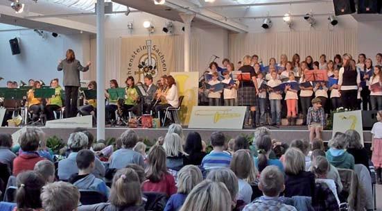 Weihnachtsschülerkonzert des Musikvereins Lichtenstein 2014
