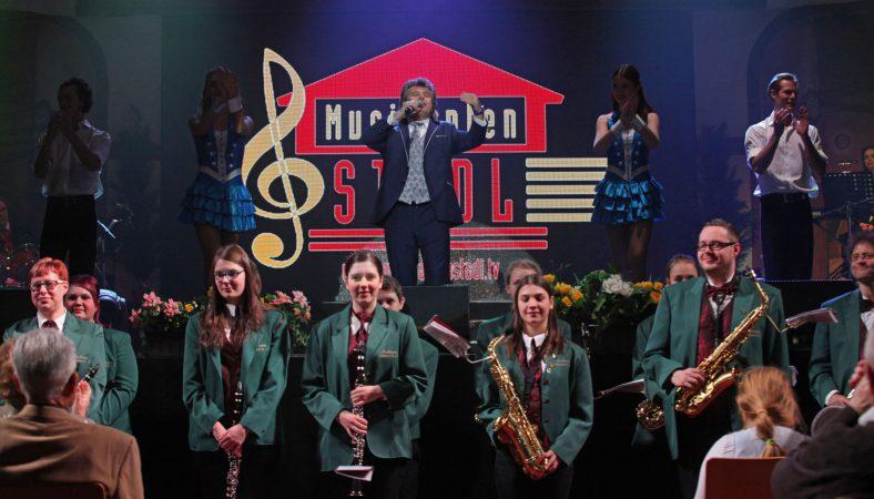 Musikverein Lichtenstein zu Gast beim Musikantenstadl