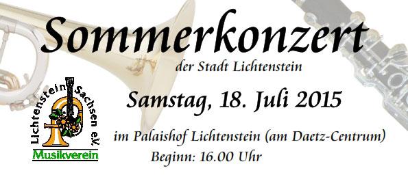 Sommerkonzert Lichtenstein