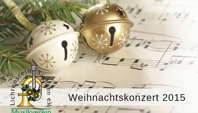 Weihnachtskonzert 2015 Lichtenstein