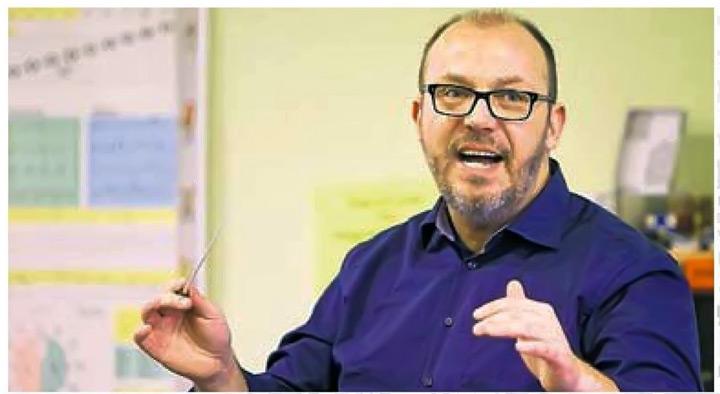 Bundesmusikdirektor Heiko Schulze Interview Im Musikverein Lichtenstein