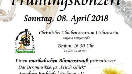 Frühlingskonzert 2018 Musikverein Lichtenstein