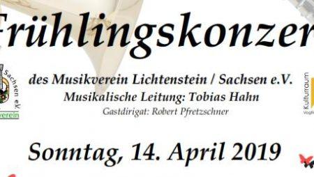 Frühlingskonzert 2019 Musikverein Lichtenstein